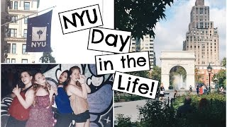 A Day in the Life of an NYU Student 2016! thumbnail