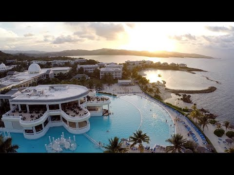 Jamaica Drone Aerial - Grand Palladium Lady Hamilton Resort & Spa in 2K