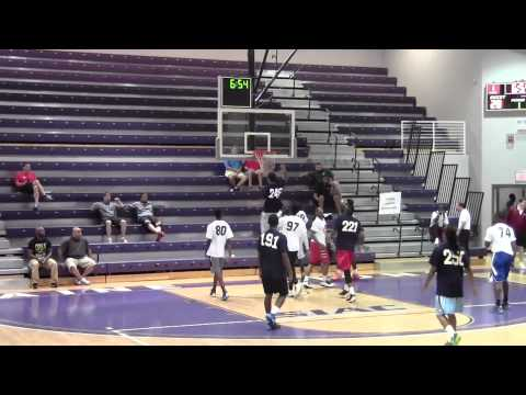 Obinna Oleka #240 - Dominates All American Juco Camp!!! 7 Dunks in One Game!!
