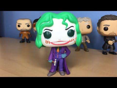 Funko Pop! DC Super Heroes - Hot Topic Exclusive The Joker (Martha Wayne) Unboxing