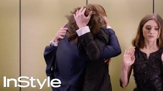 Joe Keery, Natalia Dyer & Charlie Heaton 2017 | InStyle