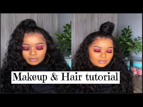 GRWM   OMBRE RED LIPS   ALI KLAIYI HAIR from YouTube · Duration:  10 minutes 9 seconds