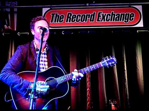 Josh Ritter - Idaho (KRVB Radio live at The Record Exchange)