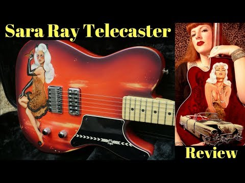 Who is this Sara Ray? | Fender La Cabronita Especial Partscaster Pin-Up Girl Art Guitar Review