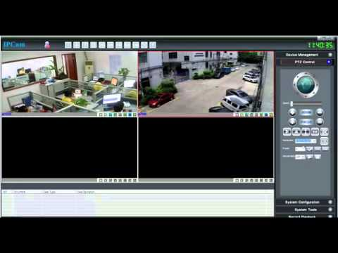 Sricam P2P ip camera setting guide video