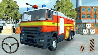 911 Rescue Fire Truck #4 - Android Gameplay FHD