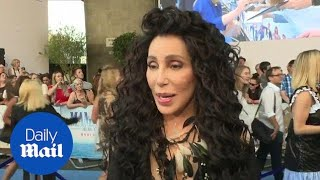 Goddess of pop Cher vows to have fun at Mamma Mia 2 premiere - Daily Mail
