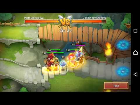 Castle Clash Talents Corrode