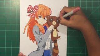 Drawing Sakura Chiyo-Gekkan Shoujo Nozaki-Kun