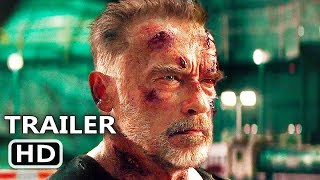 TERMINATOR 6 New Trailer (2019) Arnold Schwarzenegger, Dark Fate Movie HD