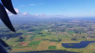 Landing in New Plymouth