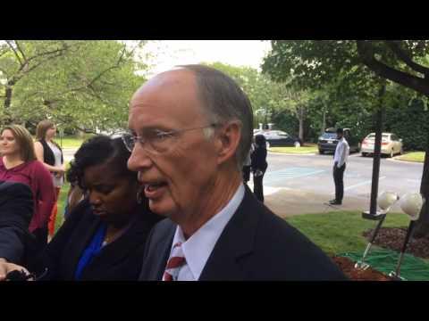 Gov. Robert Bentley on impeachment hearing