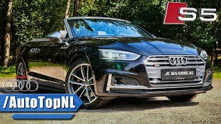 Audi S5 Convertible ACCELERATION 0-100km/h LOOKS DRIVE & SOUND by AutoTopNL