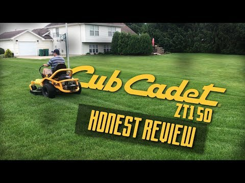 Cub Cadet Ultima ZT1 50 Final Review & Sample