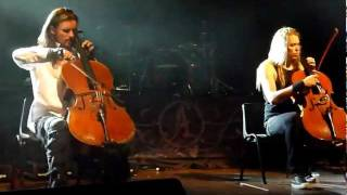 Apocalyptica -  Nothing else matters - Colombia 2012