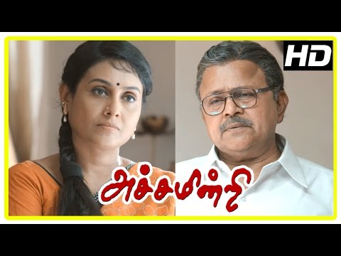 Achamindri Movie Scenes | Bharath | Radha Ravi talks about the education system | Saranya thumbnail