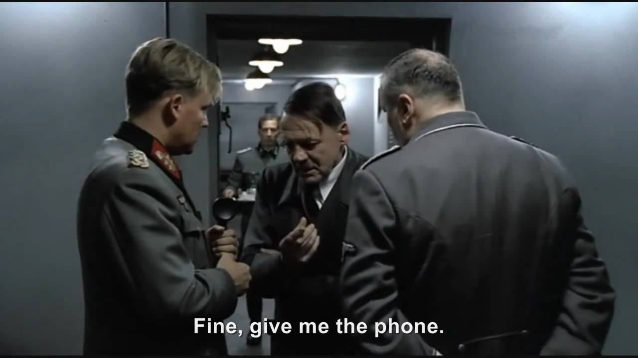 Hitler phones Hitler: The Last Ten Days