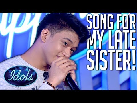 Brother Sings For His Late Sister On Idol Philippines 2019 | Idols Global