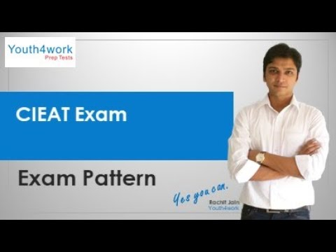 CIEAT Exam - Pattern | What's the pattern for CIEAT Exam?