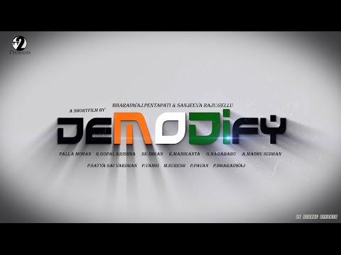 DEMODIFY- Telugu Shortfilm Trailer 2K17