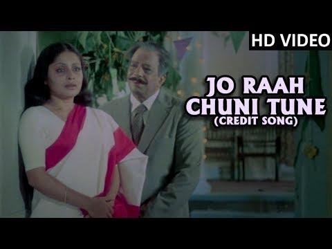 Jo Raah Chuni (Credit Song) Full Video Song (HD)   Tapasya   Kishore Kumar Hit Song   Old Hindi Song