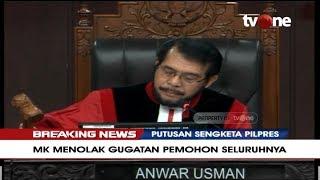 Gambar cover Detik-detik Ketuk Palu, MK Tolak Gugatan Prabowo-Sandi