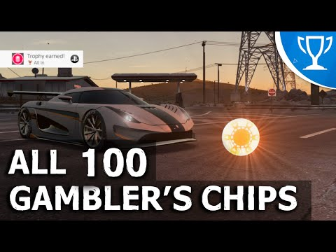 Need for Speed Payback - All 100 Gambler's Chips Locations (All In Trophy / Achievement Guide)