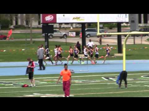 2013 NCCAA Championships: Men's 1500m