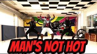 MAN'S NOT HOT || Petit Afro Choreo || Dj IFvckChris || Big Shaq ||Michael Dapaah