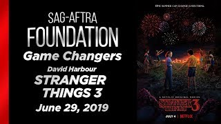 Game Changers: Q&A with David Harbour of STRANGER THINGS 3