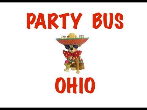 Party Bus Rental in Ohio - Columbus, Cleveland, Cincinnati, Toledo, Akron, Dayton