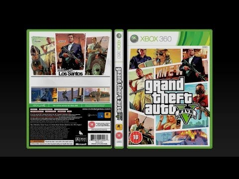 GTA 5 Cover and Box Art - Fan Art Design by Apex
