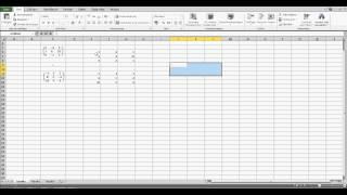 Matrizen addieren in Excel - Excel für Einsteiger
