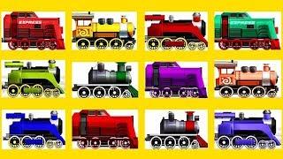 Поезд все серии подряд 25 мин. Мультик про поезд все серии без остановки. Гонки на поездах мультик