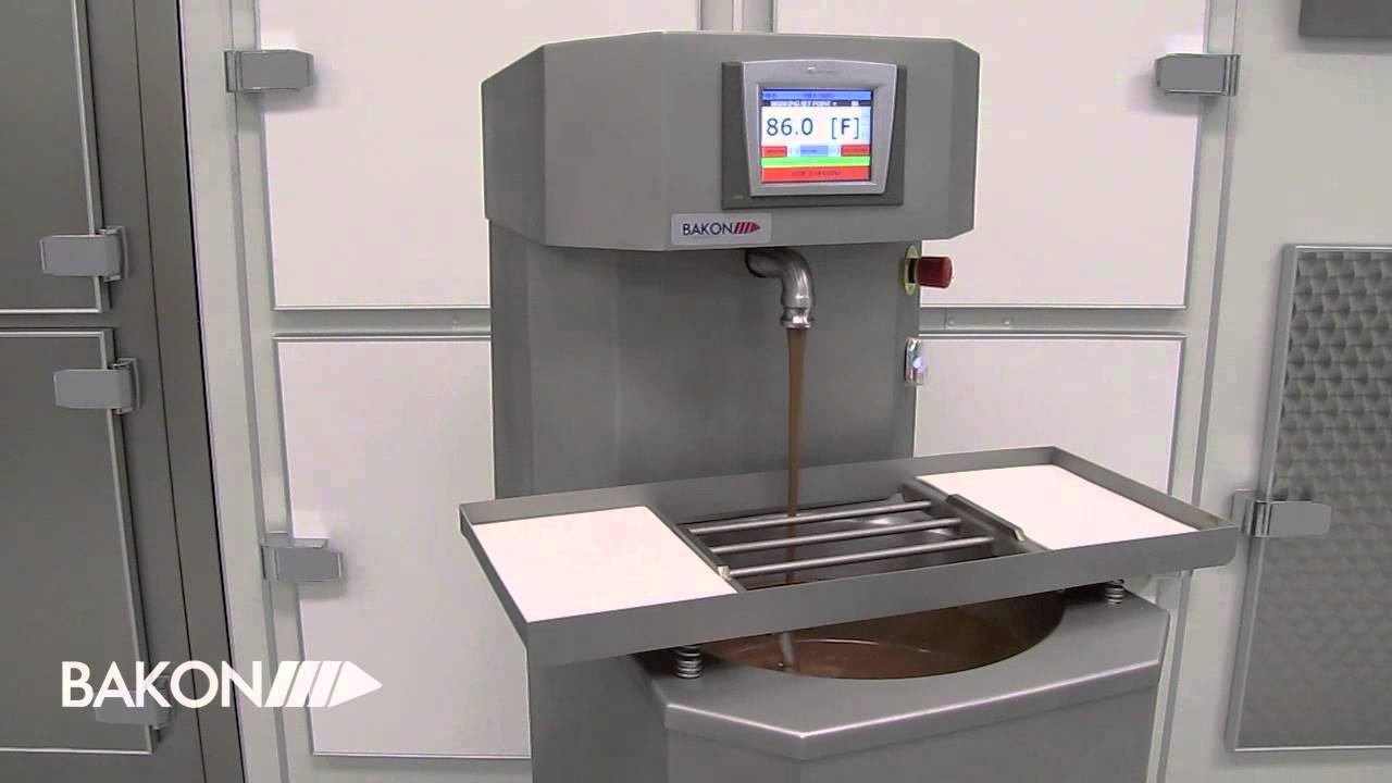 Bakon Usa Choco Lution 110 Automatic Chocolate Tempering Machine