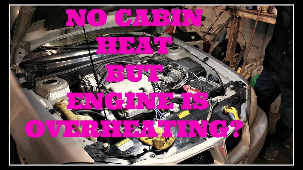 hight resolution of gm 3 4l v6 no cabin heating and engine overheating issues