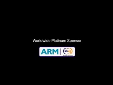 ARM: Worldwide SNUG Platinum Sponsor