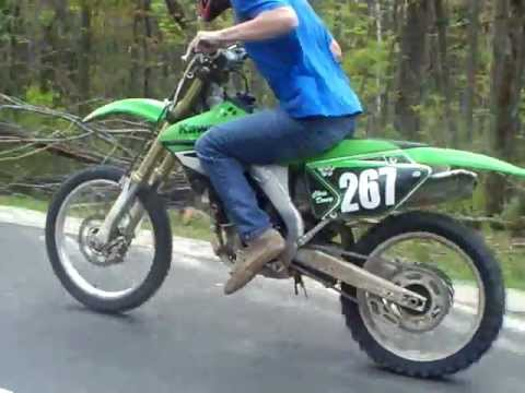 Kawasaki Dirt Bike Vs Bmw 0 60 Youtube