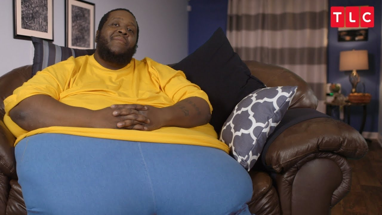this extremely overweight man is his mother 39 s caretaker. Black Bedroom Furniture Sets. Home Design Ideas