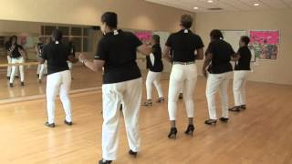 the line dance connection performing body language
