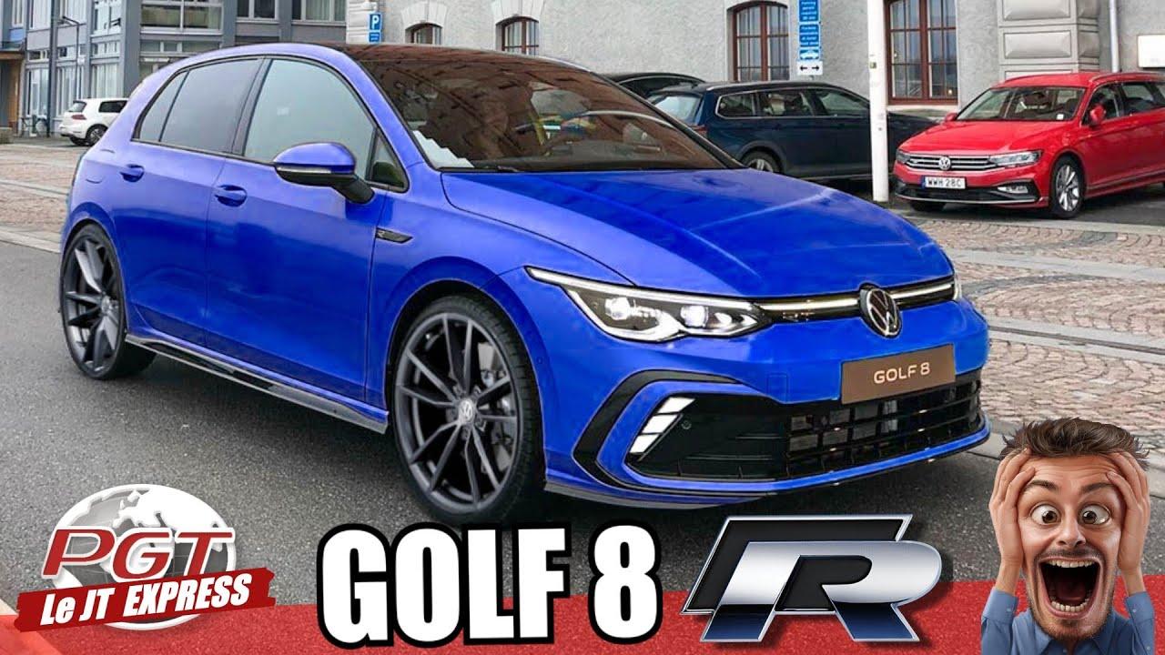vw golf 8 r la plus enerv e des r pjt express youtube