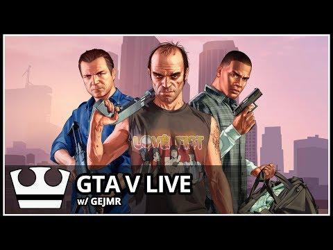 Jirka a GEJMR hraje  GTA V Online