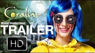 CORALINE Teaser Trailer HD (2019)