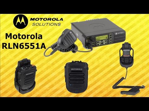 Microfono Inalambrico Motorola RLN6551A Para Radios Bases (Unboxing )