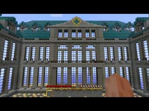 Minecraft chateau de versailles work in progress youtube - Chateau de minecraft ...