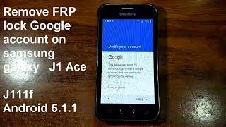comment supprimer le compte google sur samsung galaxy j1 ace j111f android 5.1.1 méthode plus rapide