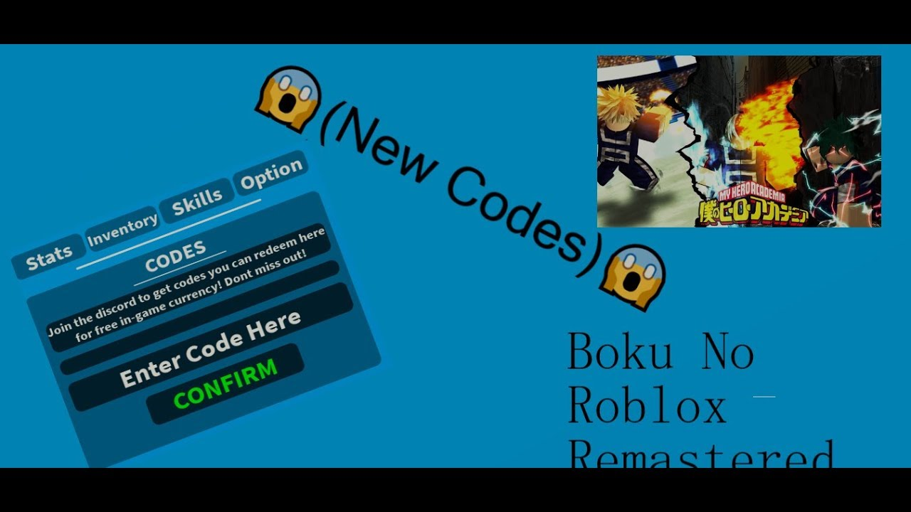 Images of Boku No Roblox Codes Wiki - #rock-cafe