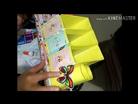 How Diy desk organizer | stand | Holder using Milk Cartons and TP Roll  | Easy DIY
