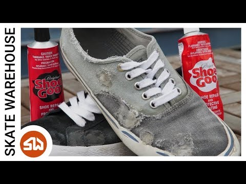 Shoe Goo   How to Apply and Repair Skate Shoes