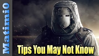 6 Tips You May Not Know in Rainbow Six Siege